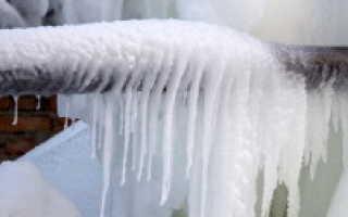 Что сделать чтобы не замерзал водопровод в частном доме