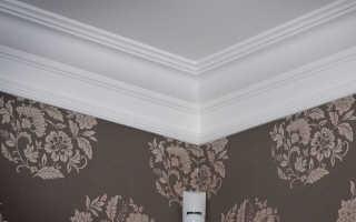 Багет из гипса для потолка своими руками
