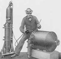 Когда появилась газовая сварка