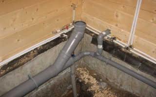 Водопровод и канализация в частном доме в деревне