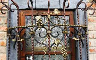 Внутренние решетки на окна для дачи своими руками