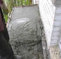 Что постелить на бетонный пол на балконе своими руками