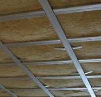 Шумоизоляция потолка своими руками какие материалы требуются