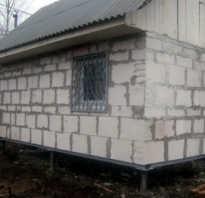 Фундамент свайный для гаража из кирпича