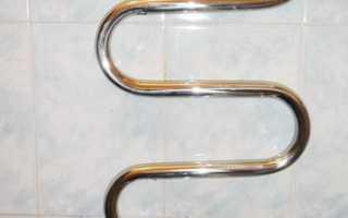 Схема монтажа теплого пола от полотенцесушителя
