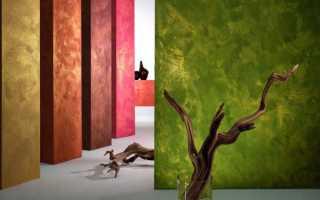 Окраска стен в квартире фактурной краской своими руками
