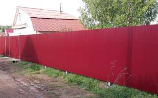 В воронеже сколько стоит сделать забор из металлопрофиля