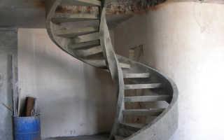 Как сделать лестницу из металла и бетона своими руками