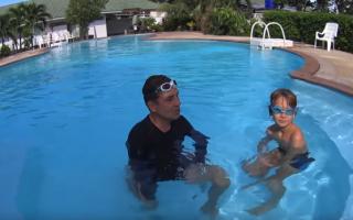 Затычка для носа в бассейне как одевать