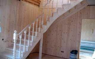 Варианты лестниц в частном доме своими руками