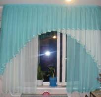 Шторы своими руками с выкройками на узкое окно