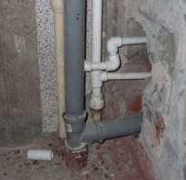 Фановая труба для канализации с отводом