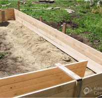 Фундамент своими руками под гараж пошаговая инструкция