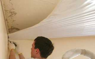 Видео урок как сделать натяжной потолок своими руками