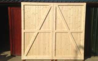 Как сделать дверь из досок своими руками для сарая