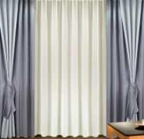 Шторы для зала с двумя окнами своими руками