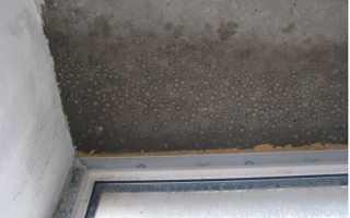 На балконе конденсат как сделать вентиляцию