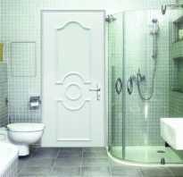 Установка сантехнических дверей своими руками