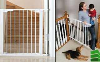 Барьер для лестницы для детей своими руками