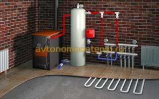 Автономное отопление в частном доме на дровах