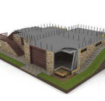 Фундаменты домов с цокольным этажом своими руками