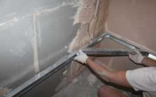 Как выровнять стены под плитку своими руками видео