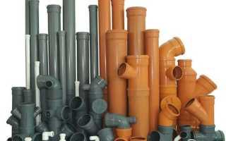 Труба полиэтиленовая для канализации диаметр длина