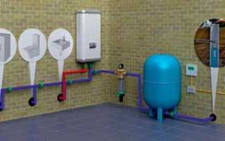 Водопровод для загородного дома под ключ