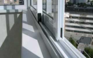 Алюминиевые раздвижные окна для балкона своими руками
