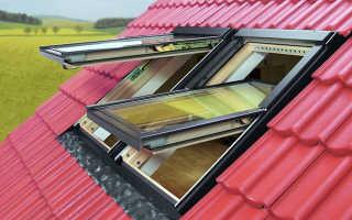 Окна мансарды на крыше своими руками фото