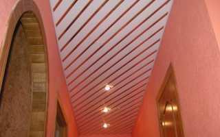Алюминиевый реечный потолок монтаж своими руками