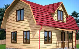 Крыша с мансардой ломаная как покрыть