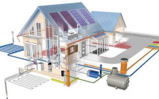 Водопровода и канализации к строящемуся дому