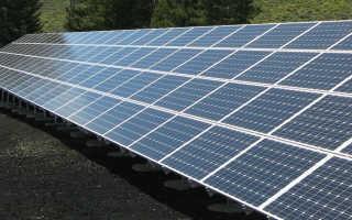Электроэнергия от солнечных батарей для отопления дома