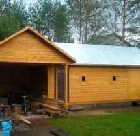 Форум баня и гараж под одной крышей