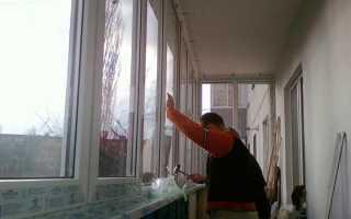 Как сделать ремонт на навесном балконе