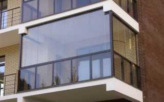 Балкон из алюминиевого профиля своими руками
