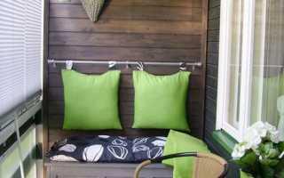 Как украсить балкон своими руками из подручных материалов