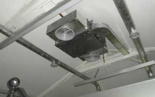 Вентиляция бетонного пола в частном доме