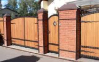 В заборе ворота делают по какому размера