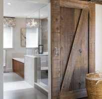 Установка дверей ванной своими руками