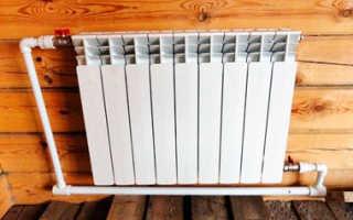 Алюминевый радиатор для отопления в частном доме