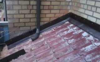 Теплоизоляция примыкания стен и крыши
