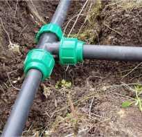 Водопровод из пластиковых труб на даче