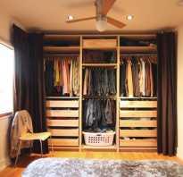 Чем заменить дверь в гардеробную
