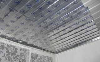Как сделать звукоизоляцию потолка на лоджии