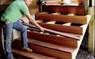 Как сделать лестницу на веранду своими руками