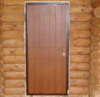 Как ставить дверь в деревянном доме