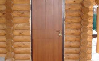 Как установить дверь в деревянном доме своими руками