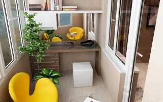 Как сделать комнату на балконе самому